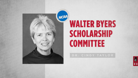 Austin Peay State University Faculty Athletics Representative (FAR) Dr. Cindy Taylor named to Walter Byers Postgraduate Scholarship Committee. (APSU Sports Information)