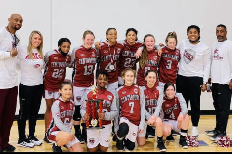 Clarksville Christian Middle School Girls Champions