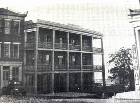 Franklin House on Public Square in Clarksville, Tennessee