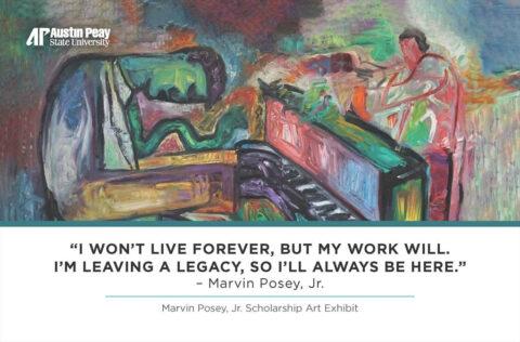 Marvin Posey, Jr. Scholarship Art Exhibit