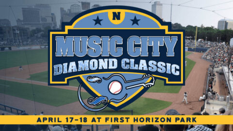 First Horizon Park to Host Music City Diamond Classic April 17th and 18th. (Nashville Sounds)