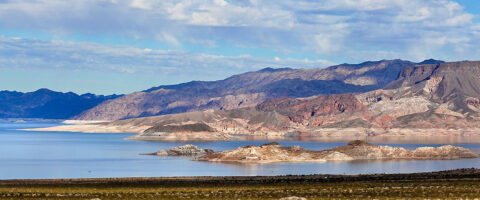 Lake Mead, along the Colorado River. (National Park Service)