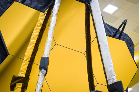 Following the conclusion of the James Webb Space Telescope's recent milestone tests, engineering teams have confirmed that the observatory will both mechanically, and electronically survive the rigors anticipated during launch. (NASA/Chris Gunn)