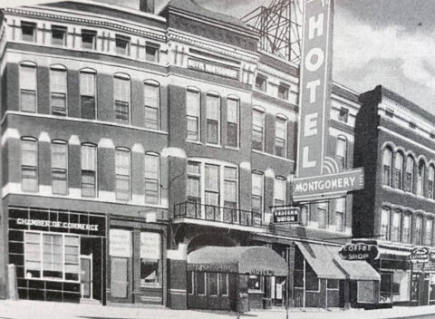 The Montgomery Hotel in Clarksville, Tennessee