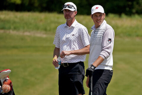 Austin Peay State University Men's Golf finishes round one of the OVC Championship in ninth. (APSU Sports Information)
