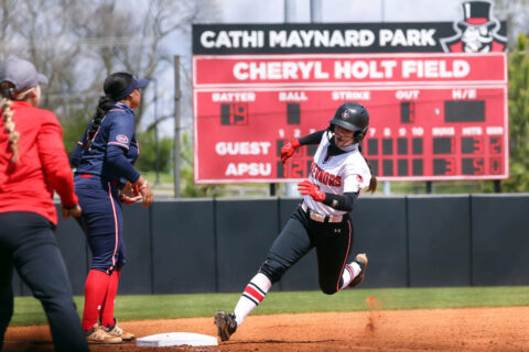 Austin Peay State University Softball begins nine-game homestand with Murray State at home, Tuesday. (APSU Sports Information)