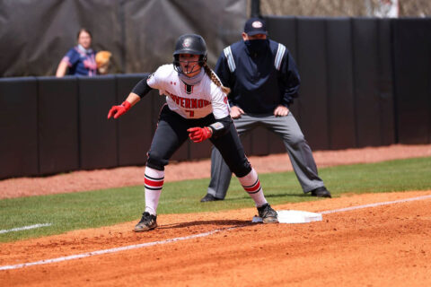 Austin Peay State University Softball had it's 10 game winning streak ended Monday with 7-4 loss to Jacksonville State at Cheryl Holt Field. (APSU Sports Information)