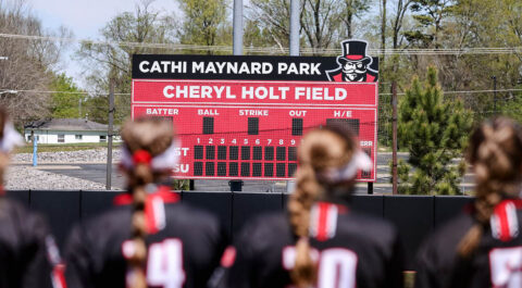 Austin Peay State University Softball plays three game series against Tennessee State at Cheryl Holt Field beginning Saturday. (APSU Sports Information)