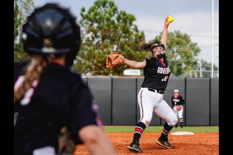 Austin Peay State University Softball shuts out Tennessee State 4-0, Sunday. (APSU Sports Information)