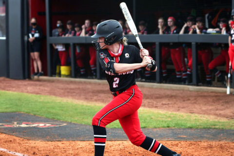 Austin Peay State University Softball bats go cold in doubleheader loss to SIU Edwardsville, Saturday. (APSU Sports Information)
