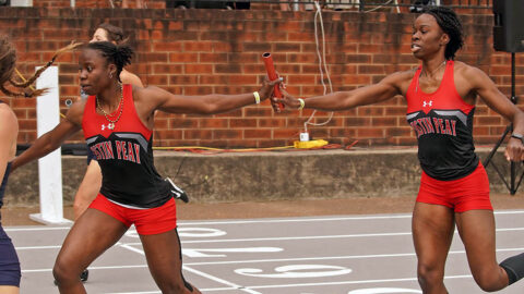 Austin Peay State University Track and Field finished Vanderbilt's Black and Gold, Saturday. (APSU Sports Information)