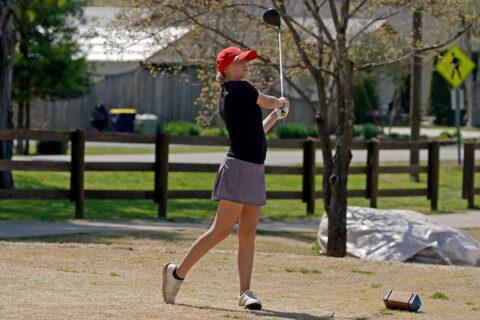 Austin Peay State University Women's Golf freshman Kady Foshaug won in the afternoon round against Western Kentucky. (APSU Sports Information)