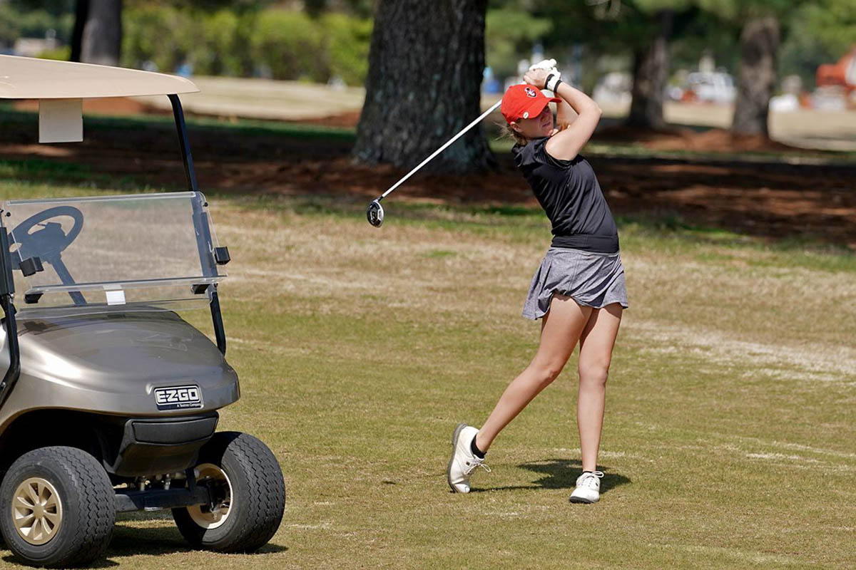 Austin Peay State University Women's Golf heads to Kentucky to take play in the Jan Weaver Invitational. (APSU Sports Information)