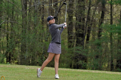 Austin Peay State University Women's Golf freshman Kady Foshaug gets her first top-20 finish as a Governor at Jan Weaver Invitational. (APSU Sports Information)