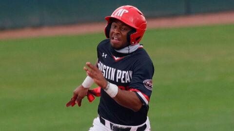 Austin Peay State University Baseball hosts Morehead State at Raymond C. Hand Field, Thursday. (Robert Smith, APSU Sports Information)