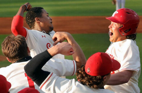 Austin Peay State University baseball cranks out three home runs in 13-4 win over Morehead State Thursday. (Robert Smith, APSU Sports Information)
