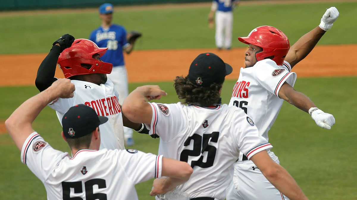Austin Peay State University Baseball loses two games to Morehead State at Raymond C. Hand Park, Friday. (Robert Smith, APSU Sports Information)