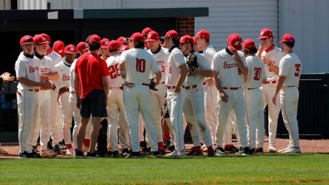 Austin Peay State University Baseball falters at #1 Vanderbilt. (Robert Smith, APSU Sports Information)