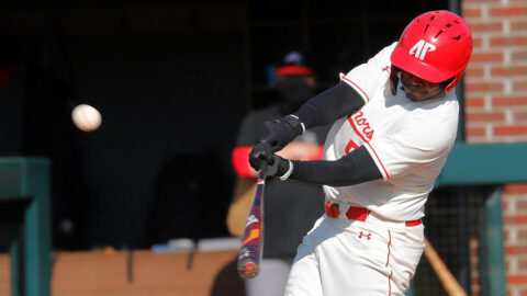 Austin Peay State University Baseball beats SIU Edwardsville in Game 1 7-6 but fall in game 2 11-3. (APSU Sports Information)