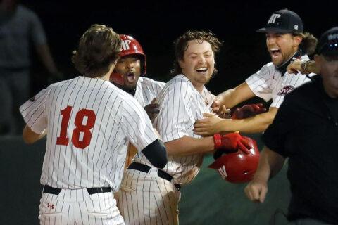 Austin Peay State University Baseball defeats North Alabama 16-15 Tuesday night at Raymond C. Hand Park. (Robert Smith, APSU Sports Information)