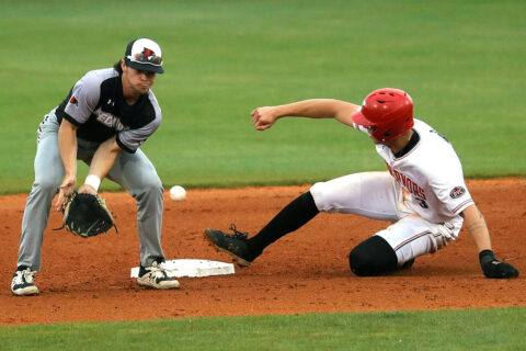 Austin Peay State University Baseball loses at home to Southeast Missouri, 16-3. (Robert Smith, APSU Sports Information)