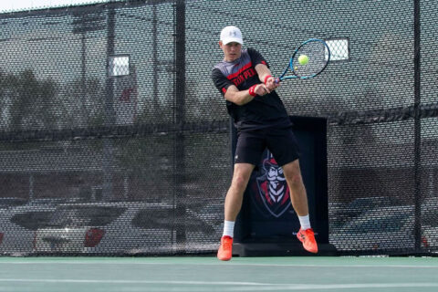 Austin Peay State University Men's Tennis kicks off OVC Championship play against #1 seed Tennessee Tech, Saturday. (APSU Sports Information)