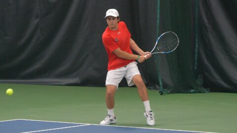 Austin Peay State University Men's Tennis season ends with lose to Tennessee Tech at OVC Championship, Saturday. (APSU Sports Information)