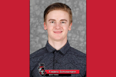 2021 Austin Peay State University Men's Tennis - Frederic Schlossmann. (APSU Sports Information)