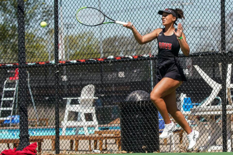 Austin Peay State University Women's Tennis heads to Nashville to face Belmont, Tuesday. (APSU Sports Information)