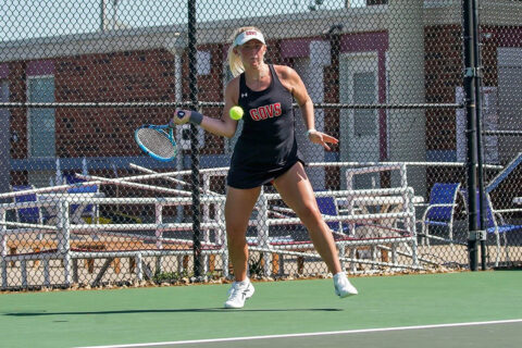 Austin Peay State University Women's Tennis faces Murray State April 24th in semifinals of OVC Tournament. (APSU Sports Information)
