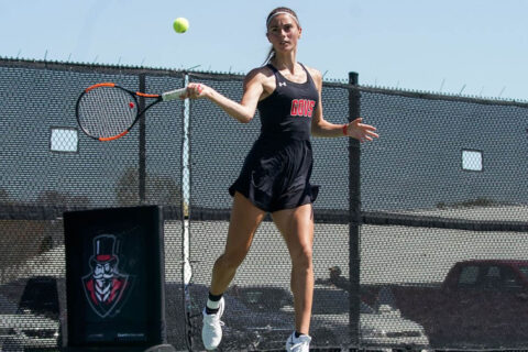 Austin Peay State University Women's Tennis faces Murray State in OVC Championship semifinals, Saturday. (APSU Sports Information)