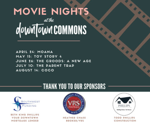 2021 Movie Nights at the Downtown Commons