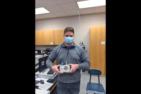 Austin Peay State University Engineering Physics student Jarres Plummer. (APSU)