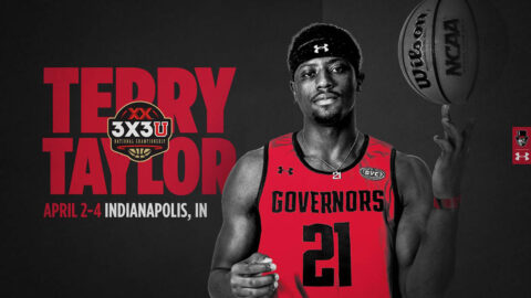Austin Peay State University's Terry Taylor to compete in 3X3U National Championships in Indianapolis. (APSU Sports Information)