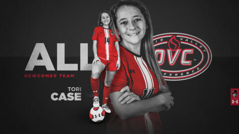 Austin Peay State University Soccer's Tori Case receives OVC All-Newcomer Team honors. (APSU Sports Information)