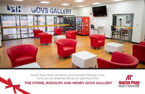 Austin Peay State University Stone, Rudolph & Henry Govs Gallery