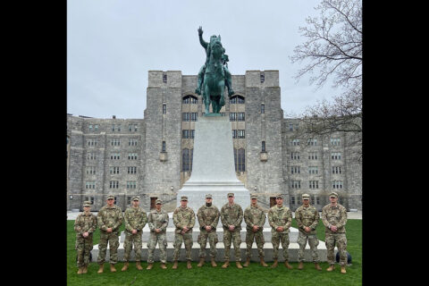 The team at West Point. (APSU)