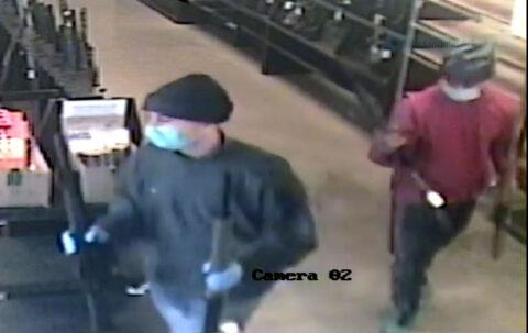 Suspect one and two in La Vergne Gun Store Burglary.