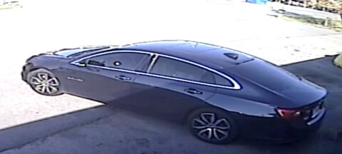 Suspects vehicle.
