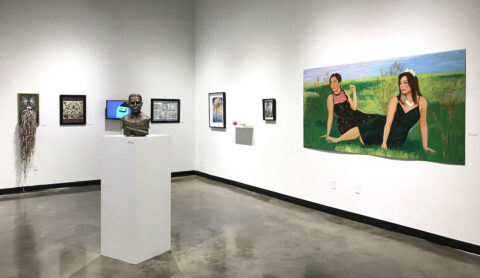 Austin Peay State University's 53rd Annual Juried Student Art Exhibition. (APSU)