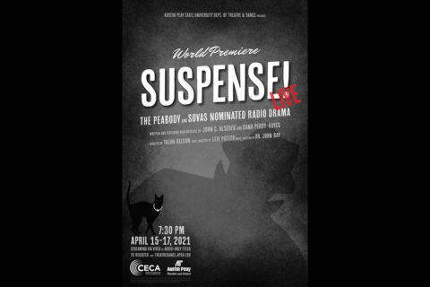 APSU Theatre and Dance presents radio drama Suspense! April 15th-17th