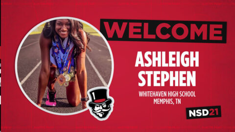 Austin Peay State University Track and Field adds Ashleigh Stephen to 2021 recruiting class. (APSU Sports Information)