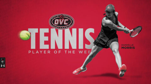 Austin Peay State University Women's Tennis player Danielle Morris earns OVC Player of the Week honors. (APSU Sports Information)