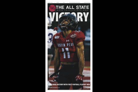 Austin Peay State University student newspaper The All State. (APSU)