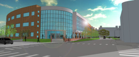 A rendering of the upcoming Austin Peay State University Health Professions Building. (APSU)
