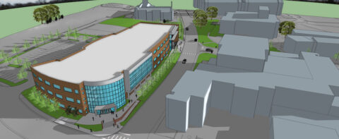 Another rendering of the upcoming Austin Peay State University Health Professions Building. (APSU)