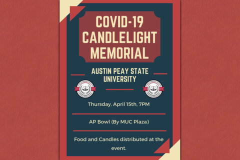 Austin Peay State University to host COVID-19 Candlelight Memorial. (APSU)