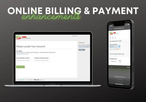 CDE Lightband introduces Online Billing and Payment Enhancements.