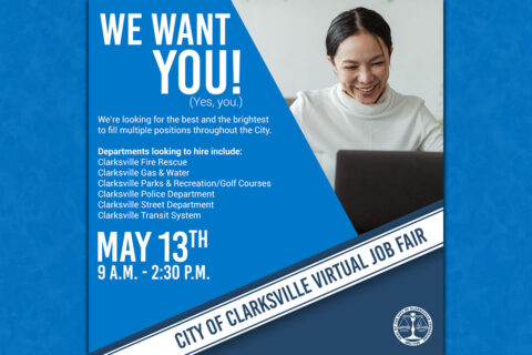 City of Clarksville Virtual Job Fair set for May 12th-13th