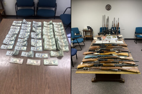 Montgomery County Sheriff's Office Crime Suppression Unit arrests Three People on drugs, weapons and theft charges.